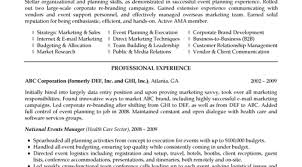 Top 8 Medical Billing Coordinator Resume Samples by Conference Coordinator Resume Event Planning Resume Marketing