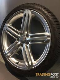 audi rs6 wheels 19 audi rs6 19inch genuine alloy wheels tyres for sale in carramar