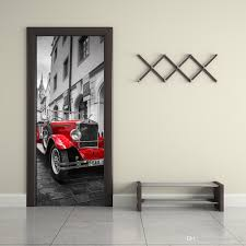 the prague square red car door stickers 3d pvc self adhesive the prague square red car door stickers 3d pvc self adhesive wallpaper waterproof door decoration quote decals for walls quote stickers for wall from