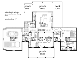 traditional style house plan 3 beds 3 baths 2150 sq ft plan 45