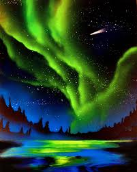 how to paint northern lights spray paint northern lights by clanaad on deviantart
