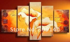 decorative artwork for homes canvas home decor with framed panel oil painting on canvas wall art