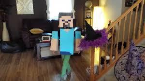 Craft Halloween Costumes Minecraft Steve Halloween Costume