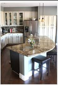 Shaped Kitchen Islands Impressing Best 25 Kitchen Island Shapes Ideas On Pinterest Open
