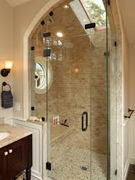 bathroom glass shower enclosure in awesome inexpensive bathroom