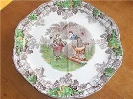 copeland spode spodes byron series sandwich plate no 1 ebay