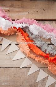 streamers paper fringe layered garland crepe paper streamers paper fan garland