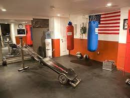 sporty themes man caves decor hanging boxing trainer concrete grey sporty themes man caves decor hanging boxing trainer concrete grey flooring unique exercise tools concrete floor