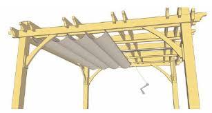 pergola retractable canopy kits diagram of retractable canopy