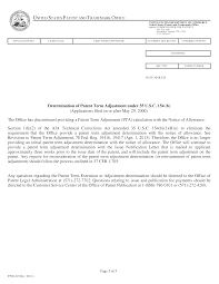 1303 notice of allowance