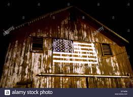 How To Paint American Flag An American Flag Painted On An Old Barn Stock Photo Royalty Free