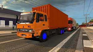 mitsubishi truck indonesia alm