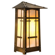 Craftsman Sconce Craftsman Style Lighting Lighting Outfitters