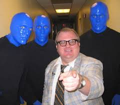 Blue Man Group Halloween Costume Paul Heier U2013 Comedian Actor