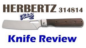 folding kitchen knives herbertz 314814 food preparation folding knife youtube