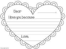 patriotexpressus prepossessing valentines day letter letter