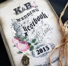 Shabby Chic Wedding Guest Book by Custom Wedding Guest Book Http Www Etsy Com Shop Etsychicuk