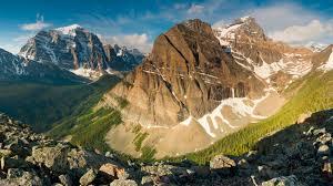 Mountains Mount Temple From Saddle Mountain Photos Diagrams U0026 Topos