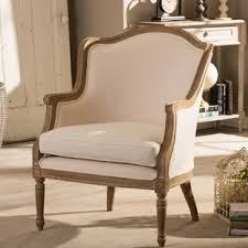 French Provincial Armchair French Provincial Chair Wayfair