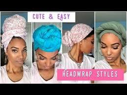 video tutorial turban style 4 easy turban headwrap styles tutorial natural hair zitarose