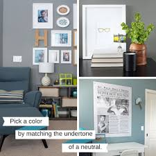 Steps To Create Your Whole House Color Palette Teal  Lime - Color palette living room