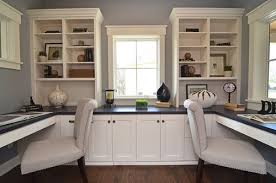 Home Office With Two Desks Enough Space For Two Tips On Creating Duty Home Offices