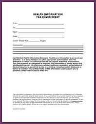 confidential fax cover sheet cvsampleform com