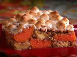 Thanksgiving Yam Recipes Banana Yam Casserole Recipe Marcela Valladolid Food Network