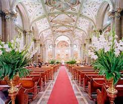 various decoration ideas for wedding church wedding decor theme
