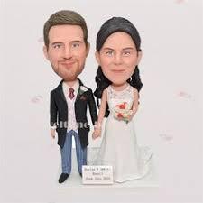 cake toppers bobblehead custom wedding cake topper bobble by hellominime on etsy