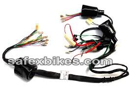 wiring harness passion plus ks swiss motorcycle parts for hero