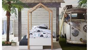 Domayne Bed Frames Housey Bed Frame With Canopy Domayne