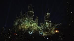 Hogwarts by Nighttime Lights At Hogwarts Castle Cnn Video