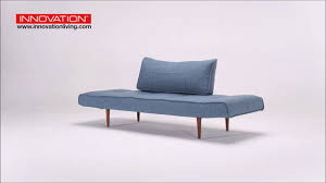 light blue sofa bed zeal deluxe daybed mixed dance light blue sofa bed by innovation