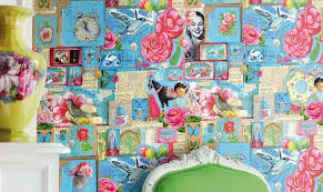 Shabby Chic Wallpapers by Shabby Chic Wallpaper U2013 Mix U0027n U0027match Patterned Wallpaper U201cshabby Chic U201d