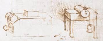 scribbles in leonardo da vinci u0027s notebook reveal moment he first