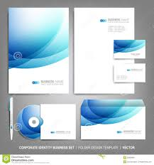 Free Business Letterhead Download by Corporate Identity Template For Business Artworks Stock