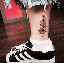 40 achingly beautiful tree tattoos evergreen trees and