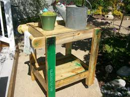 How To Make Pallet Patio Furniture by Pallet Patio Furniture Tea Cart U2022 1001 Pallets