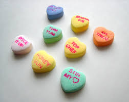 valentines hearts candy this year s s candy conversation hearts are inspired by