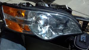 subaru legacy headlights 1992 subaru legacy liberty projector mod mighty car mods