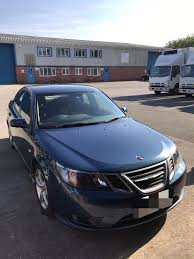 saab 9 3 2008 blue facelift 6 speed manual in halton west