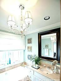 bathroom crystal light fixtures chandelier for bathroom harlowproject com