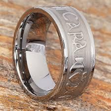 mo anam cara mo anam cara wedding band 9mm width tungsten carbide wedding