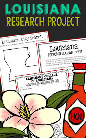 louisiana history guided research project notebook journal pages