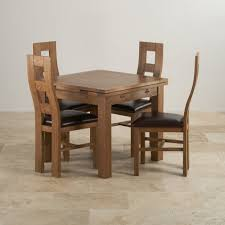 Oak Dining Table Chairs Dining Table And Chairs Painted Mango U0026 Oak Dining Table Sets