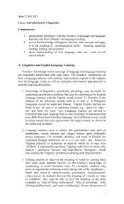 marketing objective statement introduction to linguistics 2 of 16