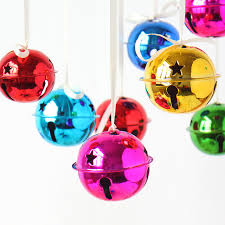 diy bell ornaments plated iron bell ring bells colored