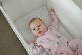 Baby Sleeping In A Crib by Snuzpod Bedside Crib Review Five Things To Love About The Snuzpod