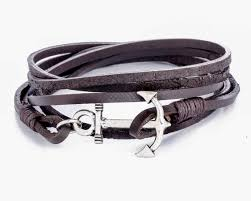 leather wrap anchor bracelet images Mens anchor bracelet mens leather bracelet leather men etsy jpg